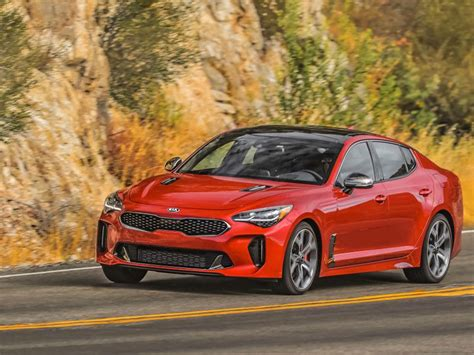 2019 Kia Stinger Gt Plus by 2019 Kia Stinger Vs 2019 Ford Mustang Which Is Best