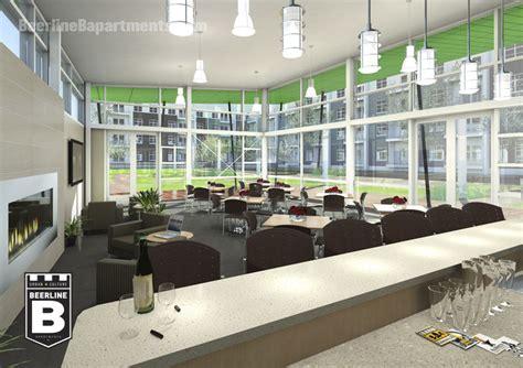 community room beerline b apartments renderings