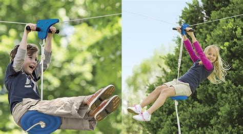 how to make a backyard zip line homemade zip line plans beste awesome inspiration