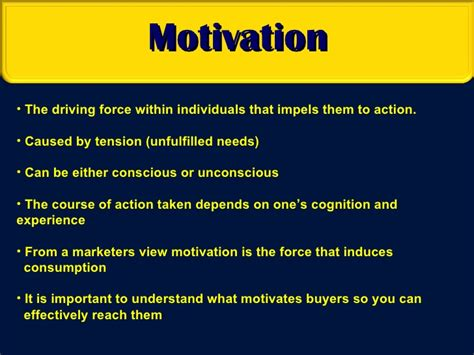 Consumer Motivation Mba by Consumer Motivation Of Subcultures
