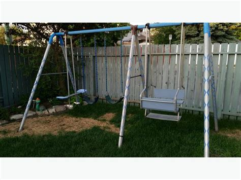 heavy duty metal swing set heavy duty metal swing set east regina regina