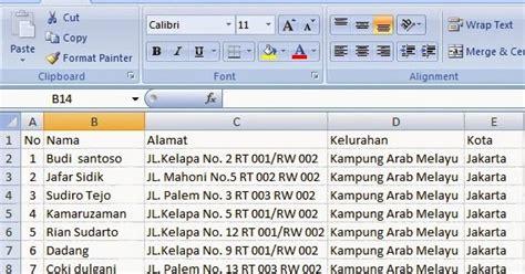 cara membuat mail merge di word 2007 2010 goresan