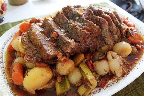 Ina Garten Beef by Here S The Dish On Pot Roast Carolina Yankee