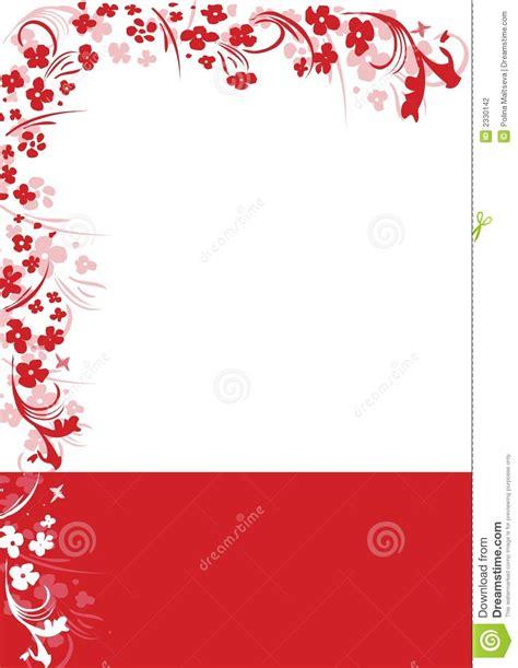 imagenes de vectores rojos marco rojo abstracto del vector fotograf 237 a de archivo