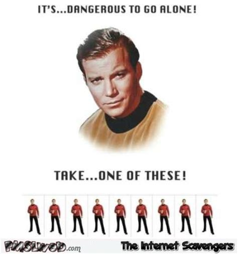 Redshirt Meme - hilarious memes and pictures your kickass friday treat