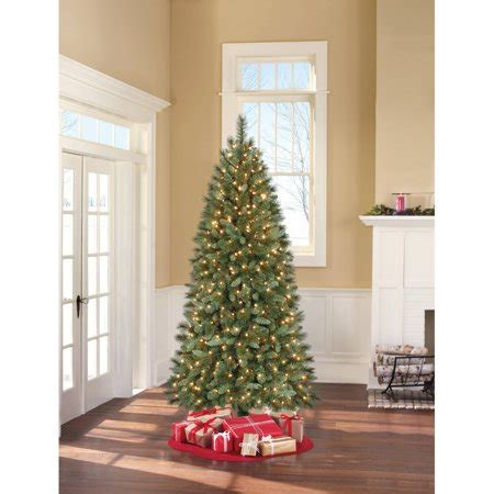 walmart in store artificial christmas trees time pre lit 7 scottsdale pine artificial tree clear lights walmart