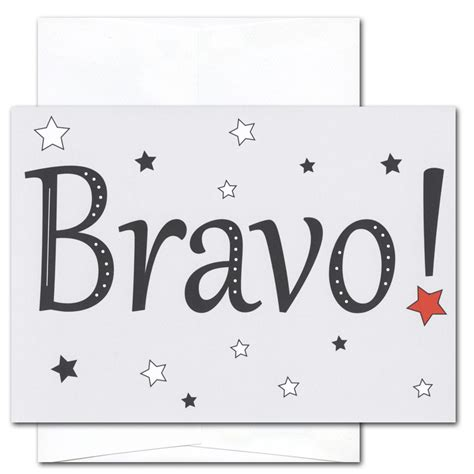 bravo card template congratulations cards bravo box of 10 cards