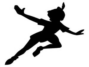 Amazing Wall Decorating Ideas With Pictures #7: Peter-pan-quotes-peter-pan-silhouette-8415512a9b432266.jpg