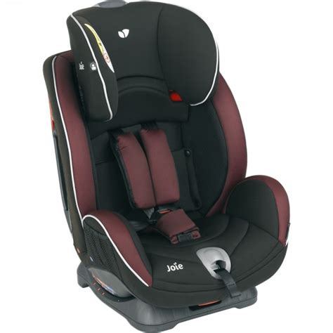 siege auto joie stages si 232 ge auto stages burgundy charcoal groupe 0 1 2 de joie