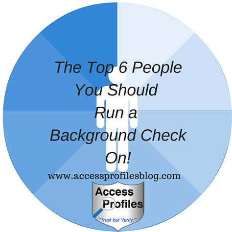 Run Background Check On Someone Access Profiles Inc The Top 6 You Should Run A