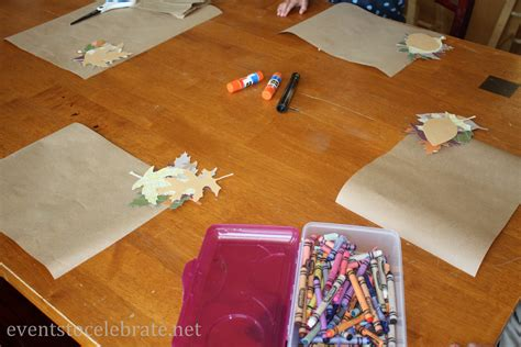 Craft Paper Placemats - thanksgiving crafts archives events to celebrate
