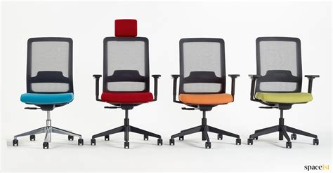 colorful office chairs task chairs max mesh chair spaceist
