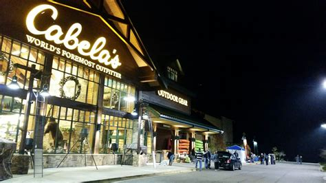 cabela s charleston west virginia wv metronews shoppers out hours ahead of cabela s black