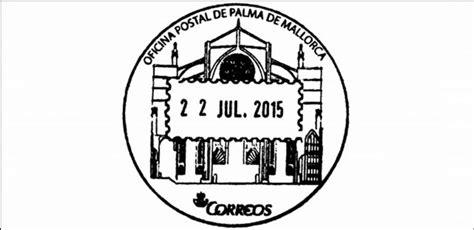 oficina correos ibiza correos edita un matasellos con la impronta de la catedral
