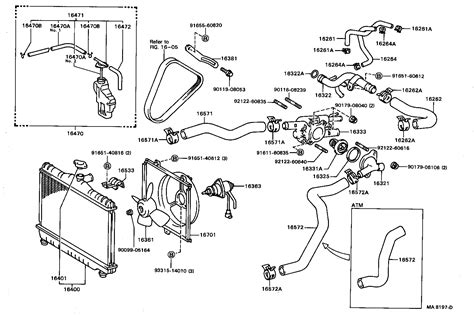 1993 toyota corolla parts list wiring diagrams wiring