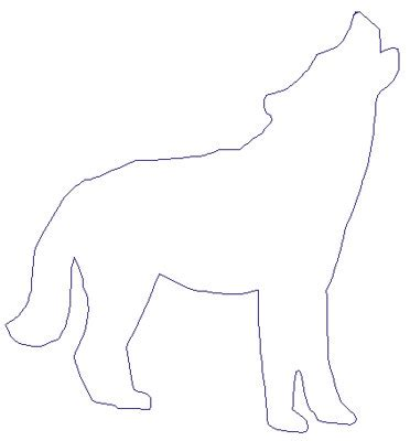 Outline For Writing A Paper Wolf by Howling Wolf Outline Clipart Best Cliparts Co