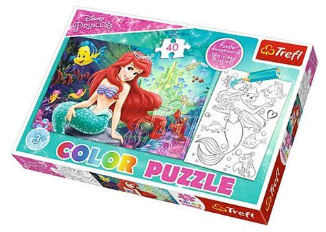 Puzzle Go color puzzle disney princess trefl 36513 40 pieces jigsaw puzzles the sirens jigsaw puzzle
