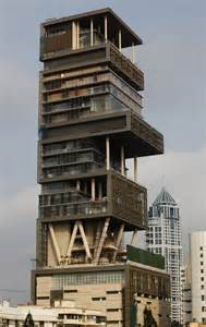 mukesh ambani house antilia photos