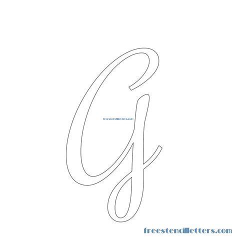 printable stencils letters script cursive stencils and numbers to print free stencil letters