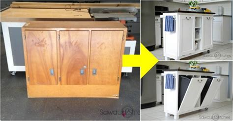 how to transform kitchen cabinets how to turn a cabinet into a kitchen island diy