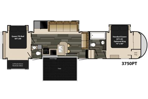 heartland fifth wheel floor plans 2015 gateway 3750pt floor plan 5th wheel heartland rv