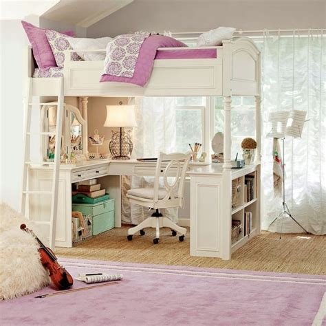 teen bunk beds teen girls loft bed with desk http www elenecassis com