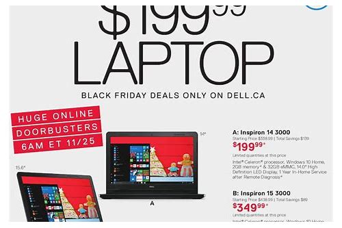 dell deals black friday canada