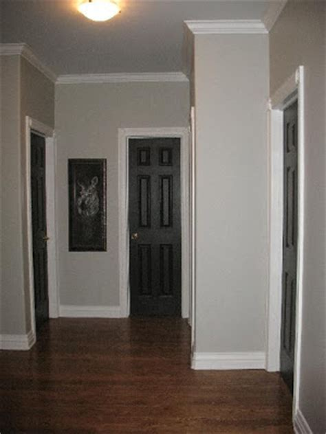 Black Interior Doors With White Trim Black Doors White Trim