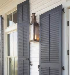 What Is The Best Gray Blue Paint Color For Outside Shutters Inspiration Tuesday Real Shutters More Colour Gray Ideas