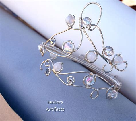 Bridal Wire by Bridal Wire Wrapped Arm Bracelet By Ianirasartifacts