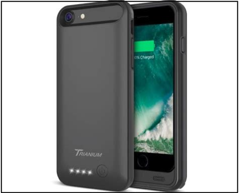 best battery cases for iphone 8 and iphone 8 plus high capacity power back up cases