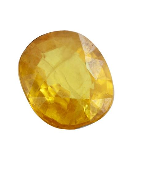 Ruby 5 45 Ct 4 45ct jaune naturel sapphire pierres pr 233 cieuses en inde