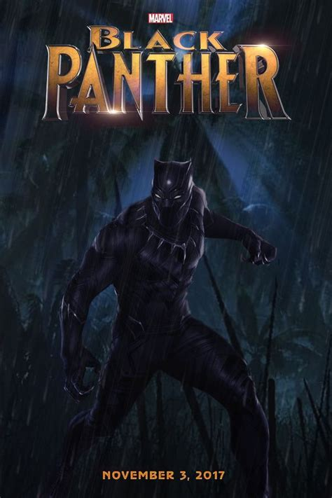 film marvel black panther black panther movie poster by dcomp on deviantart stan s
