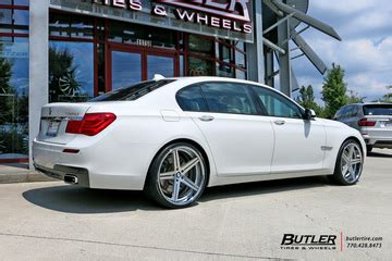bmw 7 series with 22in tsw mirabeau wheels exclusively