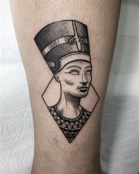 nefertiti tattoo nefertiti by brubiancullitattoo ink nefertiti