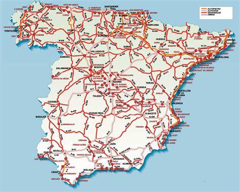 mapa de carreteras de mapa de carreteras de espa 241 a tama 241 o completo