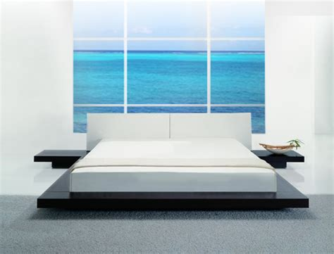 Low Profile Beds | opal low profile platform bed bedroom sets