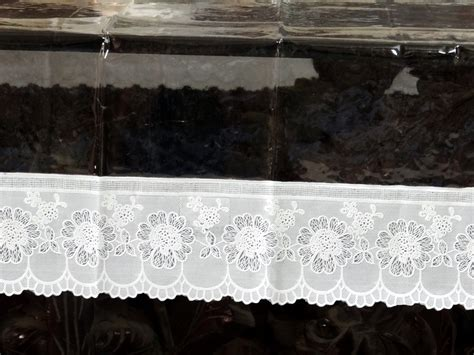 dining table cover oval shape 60 quot x 90 quot oval clear transparent with lace border dining