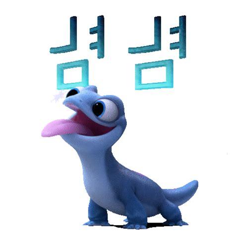 frozen sticker  walt disney studios  ios android giphy