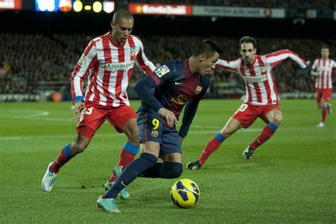 alexis sanchez madrid barcelona 4 1 atletico madrid alexis sanchez bar 231 acentral