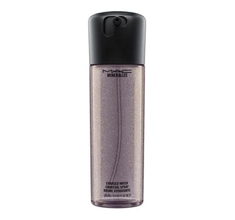 Mac Charged Water mineralize charged water charcoal spray mac cosmetics