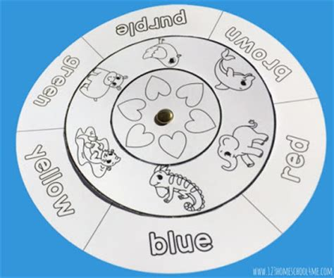 color matching wheel learn colors with free color matching wheels