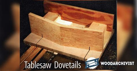 table  dovetail jig woodarchivist