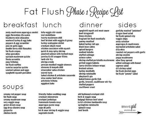 Easy Detox Diet Plan Menu by 25 Best Ideas About Flush Diet On