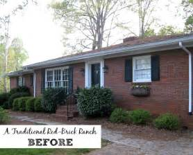 curb appeal ranch house giving a basic brick ranch curb appeal and more hooked