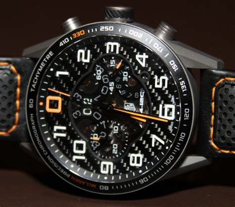 Tag Heuer Cr 7 Orange Gold Canvas Limited Edition tag heuer mp4 12c chronograph on exclusive ablogtowatch