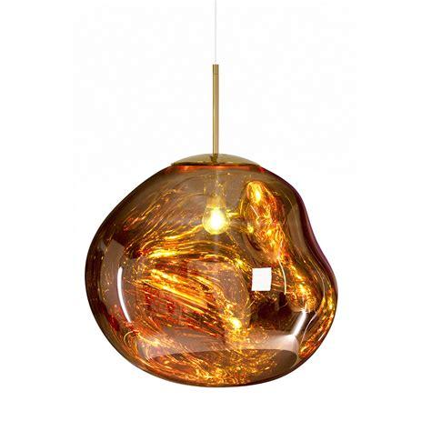 Gold Light Pendant Buy Tom Dixon Melt Gold Pendant Light Big Amara