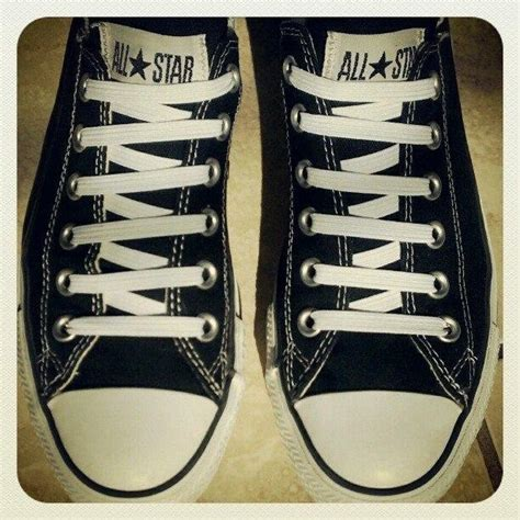how to bar lace converse high tops how to lace your converse shoelaces in fifteen different