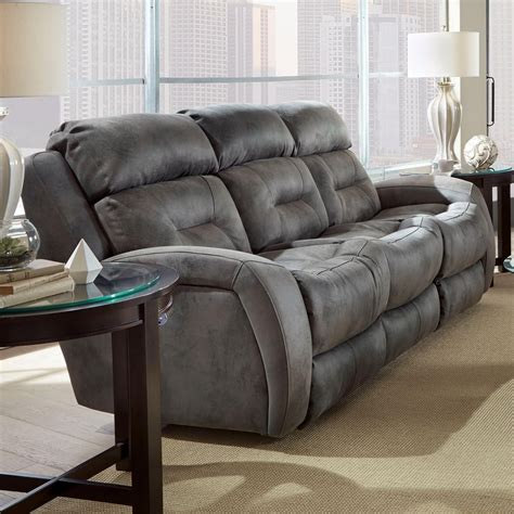 southern motion power sofa southern motion showcase reclining sofa with power