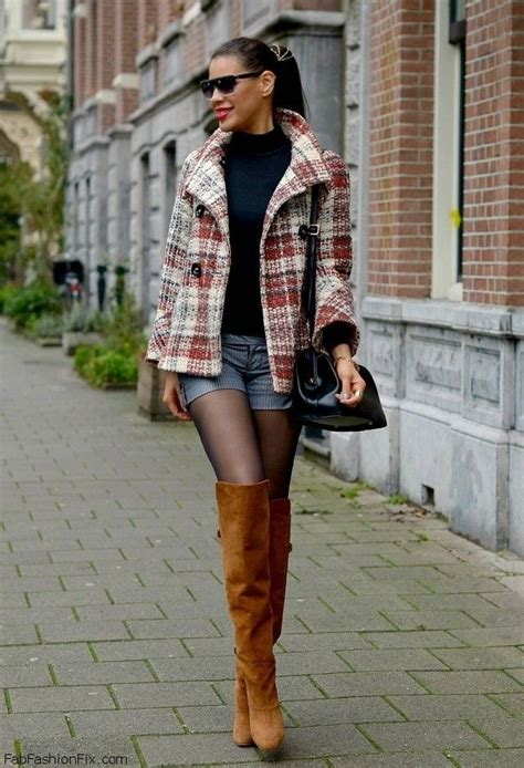 Sepatu Wanita Sepatu Gucci Highheels Brown style guide how to wear tartan coats this winter fab